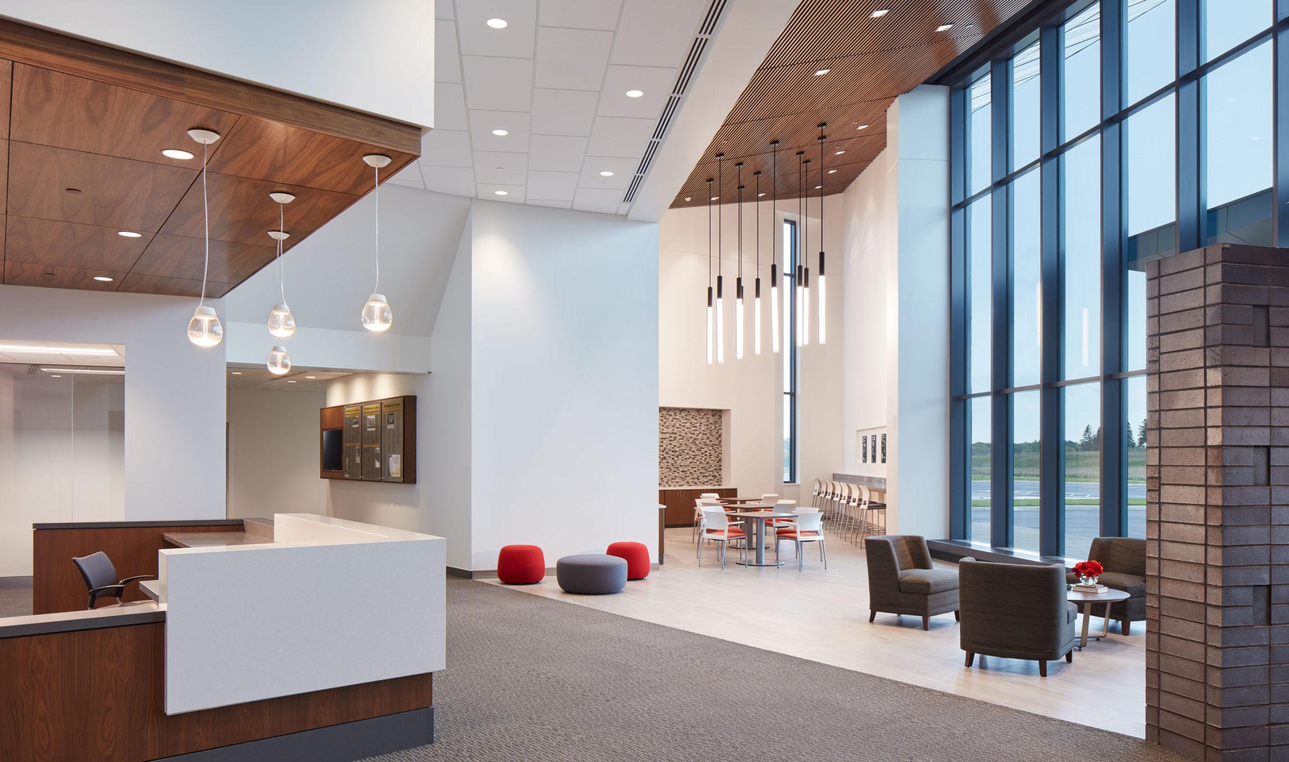 CentraCare-LongPrairieMN-SoundPly-Alta-Acoustic-Ceiling-Panels-healthcare solutions