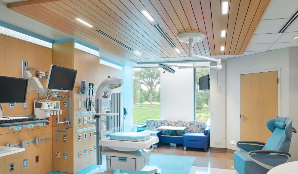 Hospital-NICU-ExamRoom-SoundPly-Lino-Acoustic-Timber-Wood-Planks